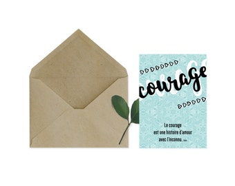 Map 'Courage' quote