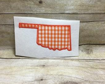 Oklahoma Applique, Oklahome Embroidery Design Applique