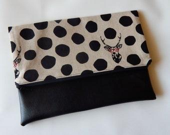 Clutch Bag-Foldover Bag-