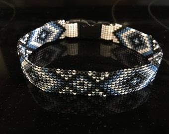 Miyuki Man Bracelet, Handmade Man Bracelet, Nikitas Design Bracelet