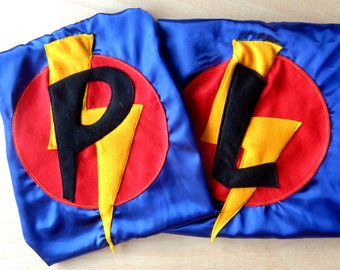 Kids's personalised superhero cape