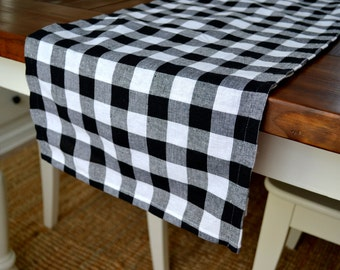 French Country Buffalo Check Table Runner