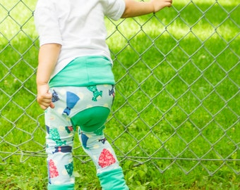 CUSTOM * Zaloones pattern dress - pants that evolved to the rhythm of the child by ZalyssCreation