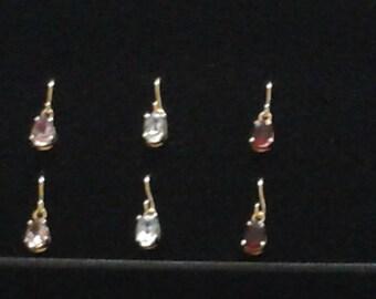 3 pair earring set.
