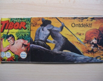 An old Lilliput comic book: Tibor son of the jungle, discovered! ... 1962