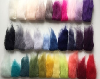 Giant yarn Merino wool sample swatch - 30+ colour options available - Sample Giant yarn, perfect for chunky Knit Blanket and Giant knitting
