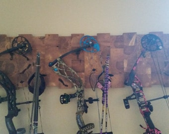 CUSTOM Single, Double, Triple bow hanger rack