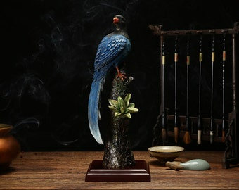 Copper,Chinese mascot,A good gift in happy festival time,Bird sculpture