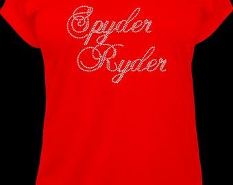 """Spyder Ryder Super Script """"Pick shirt and Stones"""""""
