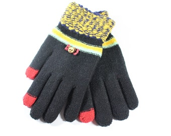 Cute Mixed Cotton Gloves For Womens