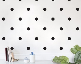 Polka Dot Circle Removable Vinyl Wall Decal Sticker Sheet of 50 — Multiple Sizes!