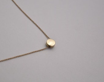 dot necklace gold necklace everyday necklace bridesmaid necklace