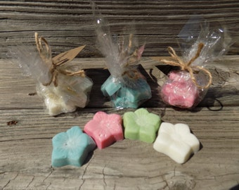 Flower wax melts! Pick your color and scent!