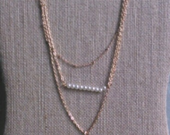 Beaded Multilayer Necklace