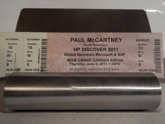 Paul Mccartney Private Hewlett Packard Convention Concert