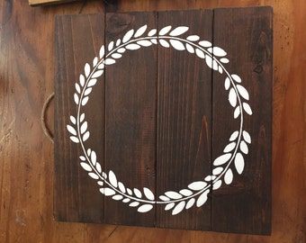 10X10 Custom Wood plaque