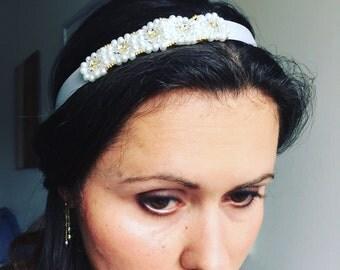 Elisheva bridal headband