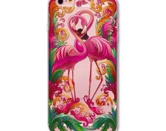 Bright Flamingo - Iphone 6/6s - Phone Case - Pretty - Animals