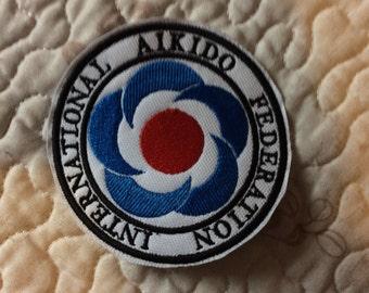 Patch Badge Aikifo International Federation - Mixed Martials Art