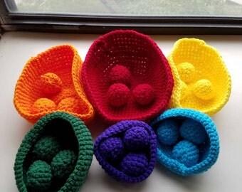 Bright and Soft Nesting Bowls/Balls
