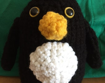 Penguin Tooth Guardian Crocheted Plush Toy