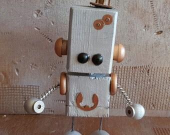 R.E.X.X. Wooden Robot