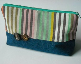 "Make-up bag ""Stripes"""