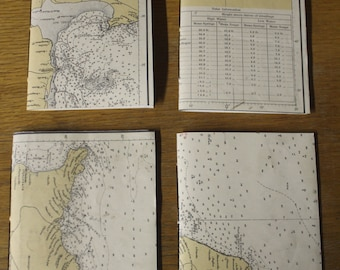 Beige Map Notebook