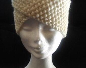 Handmade Knitted Retro Headband