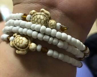 Turtle memory bracelet