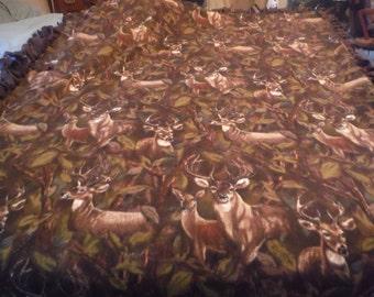 Deer New Sew Throw
