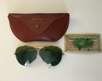 Vintage Aviator Sunglasses by Willsonites