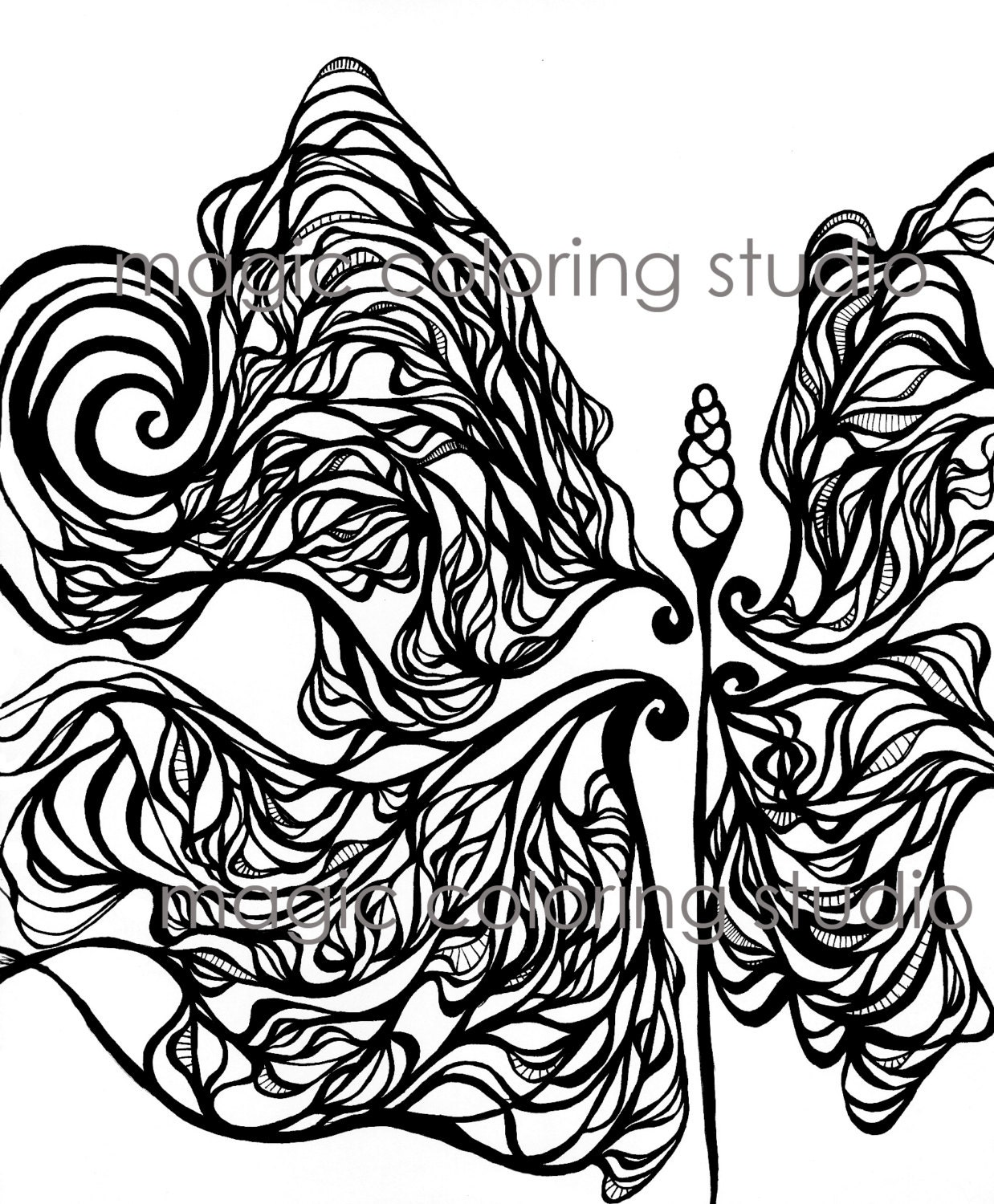 Flower art coloring pages - This Is A Digital File