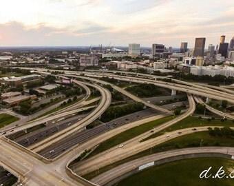 Atlanta Georgia Aerial Picture