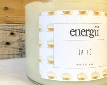 Latte Soy Wax Candle