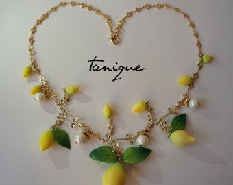 Lemon Necklace