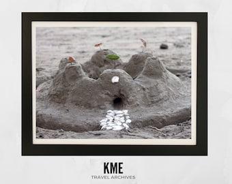 Sandcastle, New Zealand: Print 033