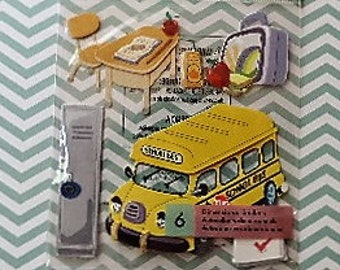 School themed scrapbook stickers by Jolee's Boutique