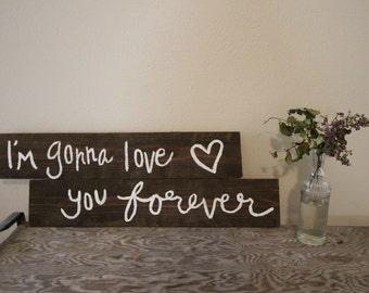 love you forever & ever, amen