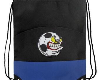 Soccer Fan Drawstring Cinch Bag