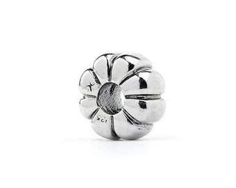 Authentic Novobeads Sterling Silver 1508 Aster Flower, Silver