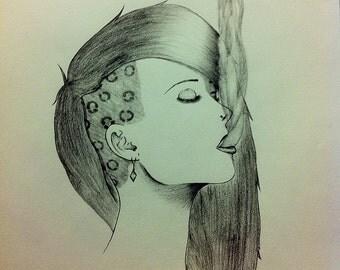Pencil Drawing Photo Realism
