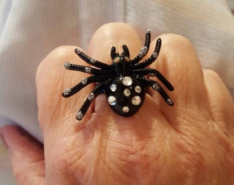 Retro Spider Ring