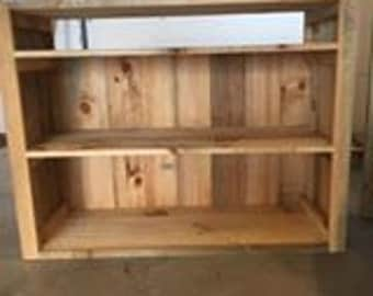 Rustic Pine TV Stand