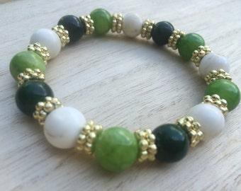 Irish Eyes Stretch Bracelet