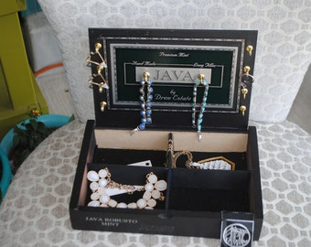Up-Cycled Cigar Jewelry Box