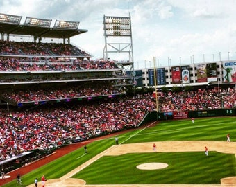Nationals Stadium print on canvas