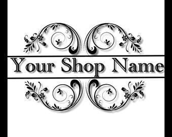 Logo Shop Banner, Shop Banner, Custom Logo, Graphic Design, Banner Design, Custom Banner, Premade Banner,