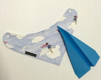 Bandana Bib Paper Aeroplane