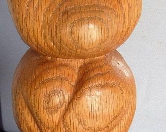 Oak teddy bear